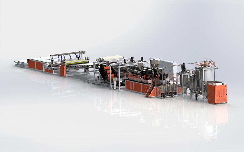 PMMA板材挤出生产线