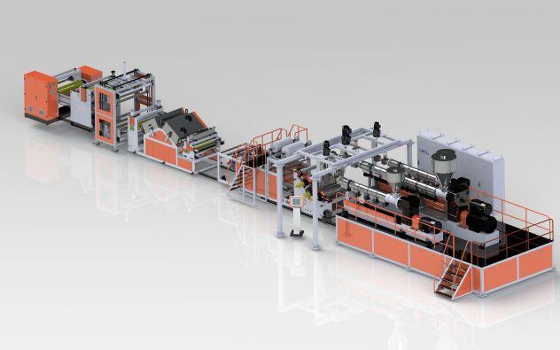 PP、PE木紋裝飾膜生產線