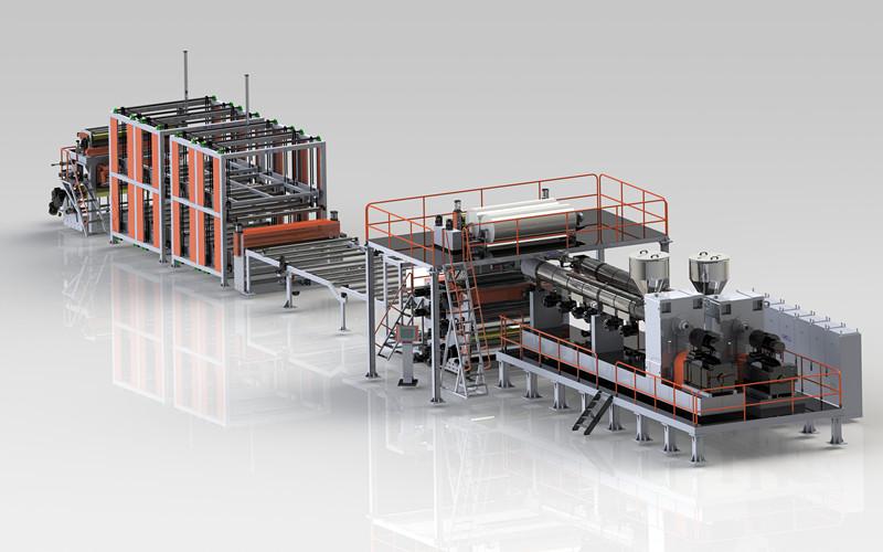 TPO防水卷材生產線