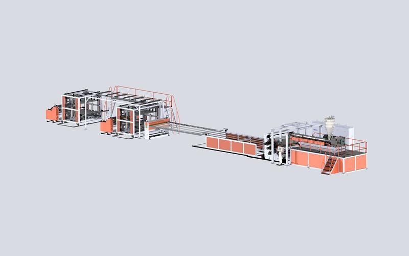 PVC水晶板生產線